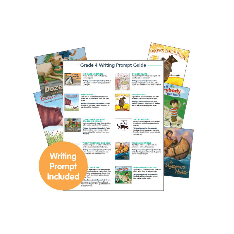 Fourth Grade Read-Aloud Writing Connectors: Variety Pack