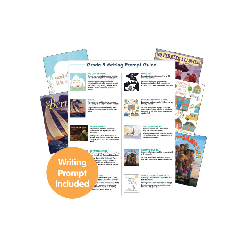 Fifth Grade Read-Aloud Writing Connectors: Variety Pack