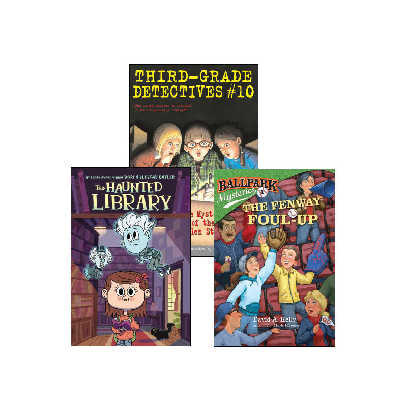 Third Grade Genre Collection Mystery: Variety Pack