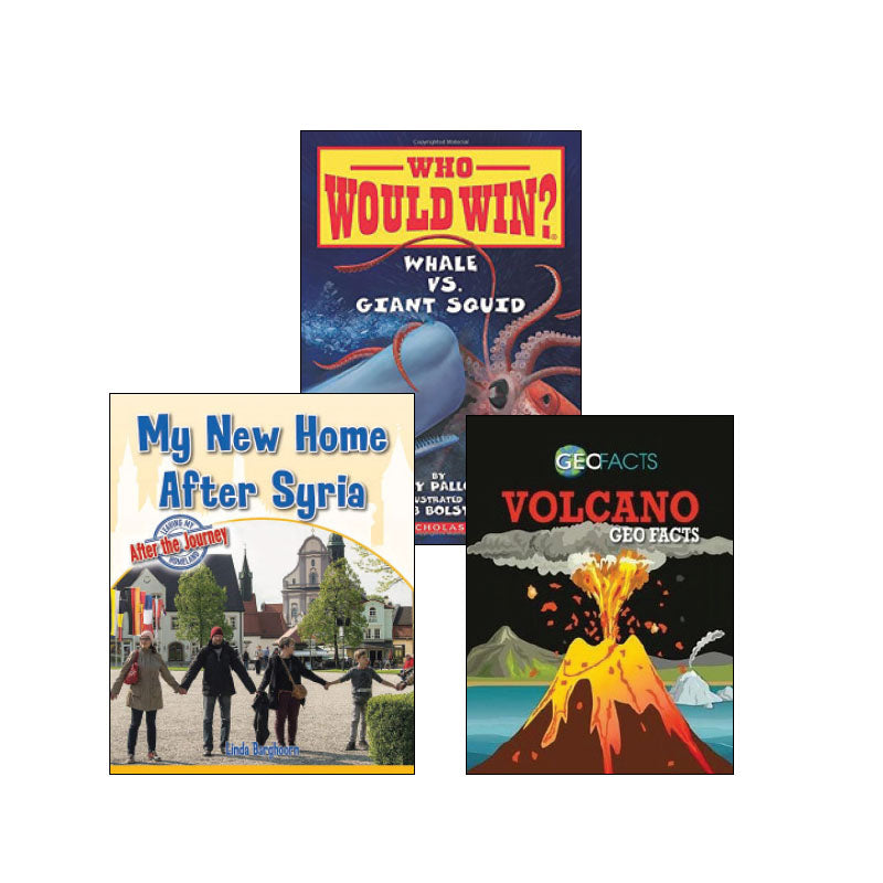 Fifth Grade Genre Collection High-Interest Nonfiction: Variety Pack