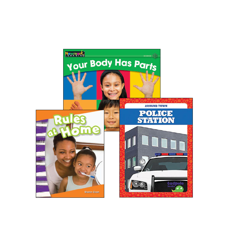 Kindergarten Topic Collection Health and Safety: Variety Pack