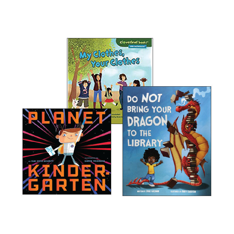 Kindergarten Topic Collection Read Alouds: Variety Pack