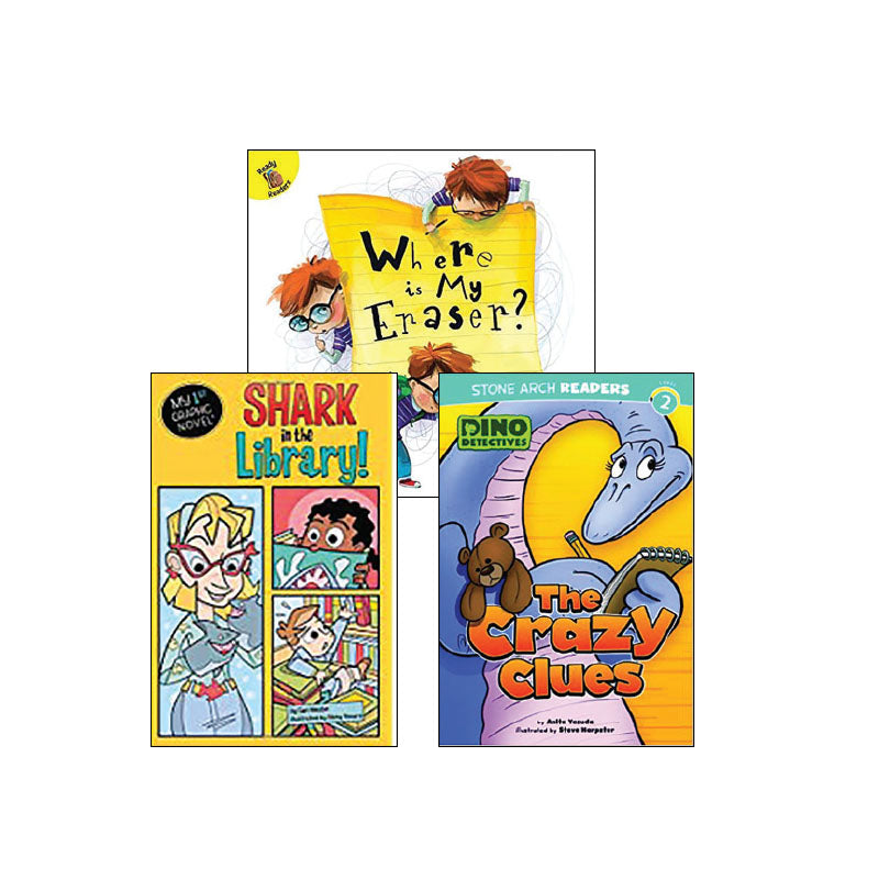 First Grade Genre Collection Mystery: Variety Pack