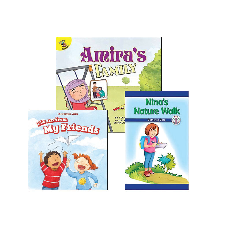 First Grade Genre Collection Realistic Fiction: Variety Pack