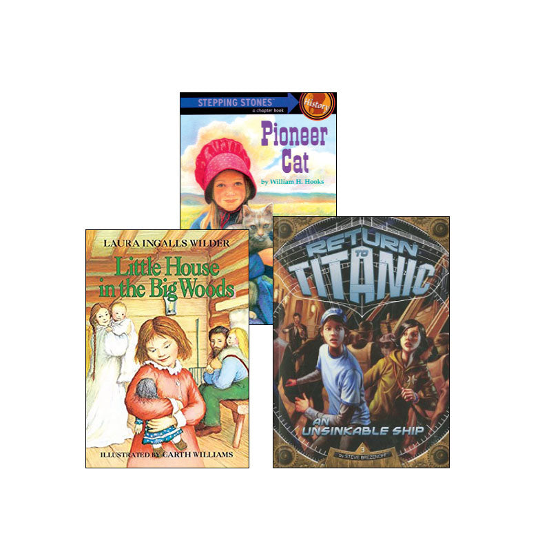 Third Grade Genre Collection Historical Fiction: Variety Pack