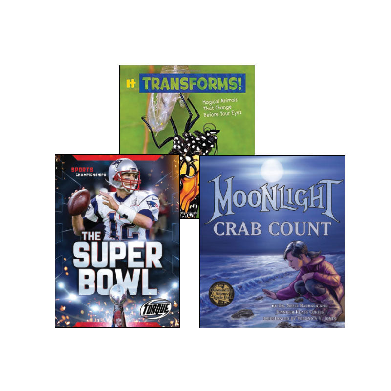Third Grade Genre Collection High-Interest Nonfiction: Variety Pack