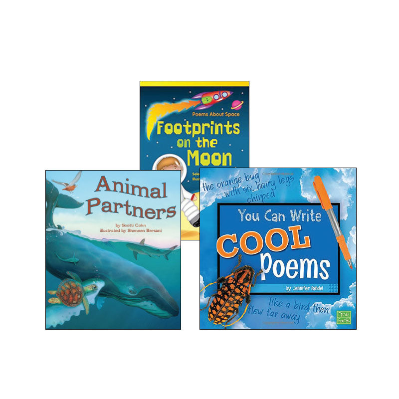 Third Grade Genre Collection Poetry and Rhyme: Variety Pack