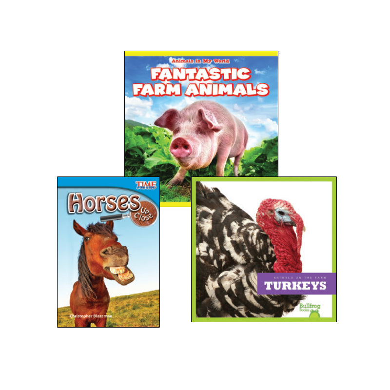 High Interest Science -  Farm Animals - Grades 1-2: Variety Pack