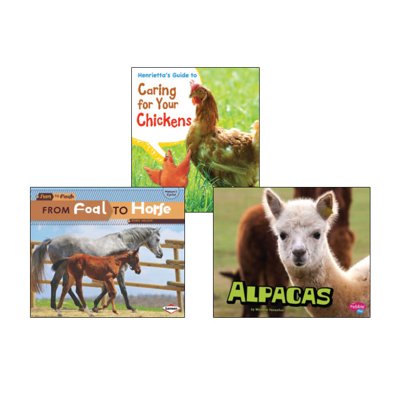 High Interest Science -  Farm Animals - Grades 2-3: Variety Pack