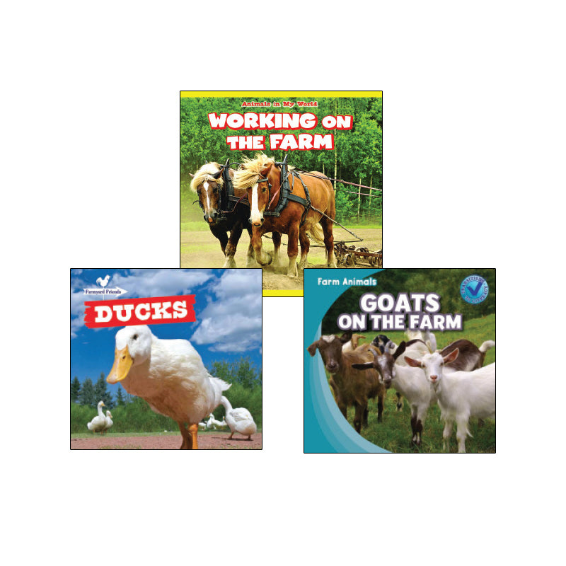High Interest Science -  Farm Animals - Grades K-1: Variety Pack