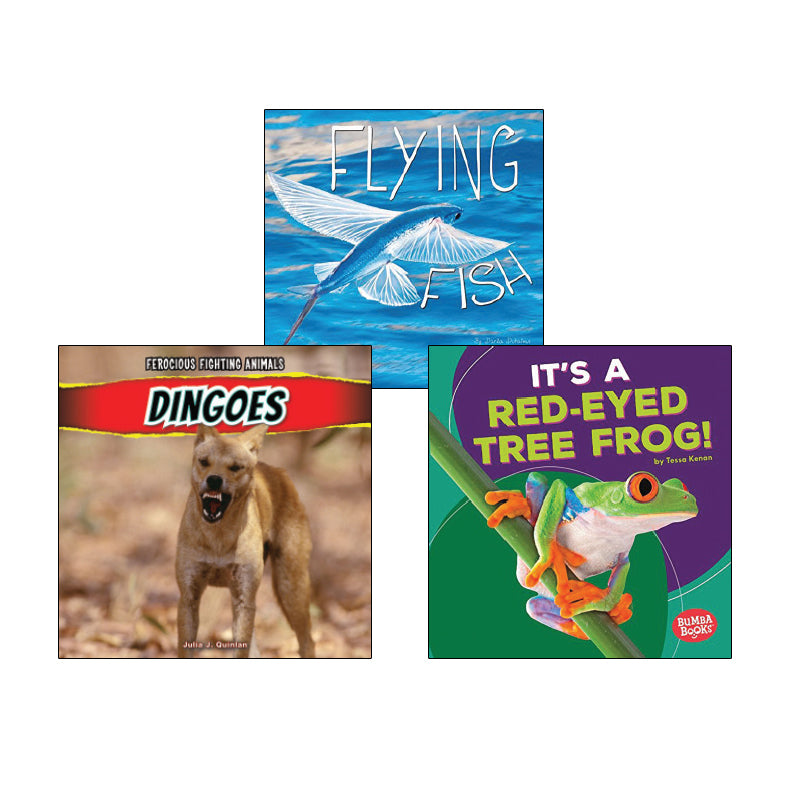 High Interest Science - Weird and Wild Animals - Grades 1-2: Variety Pack