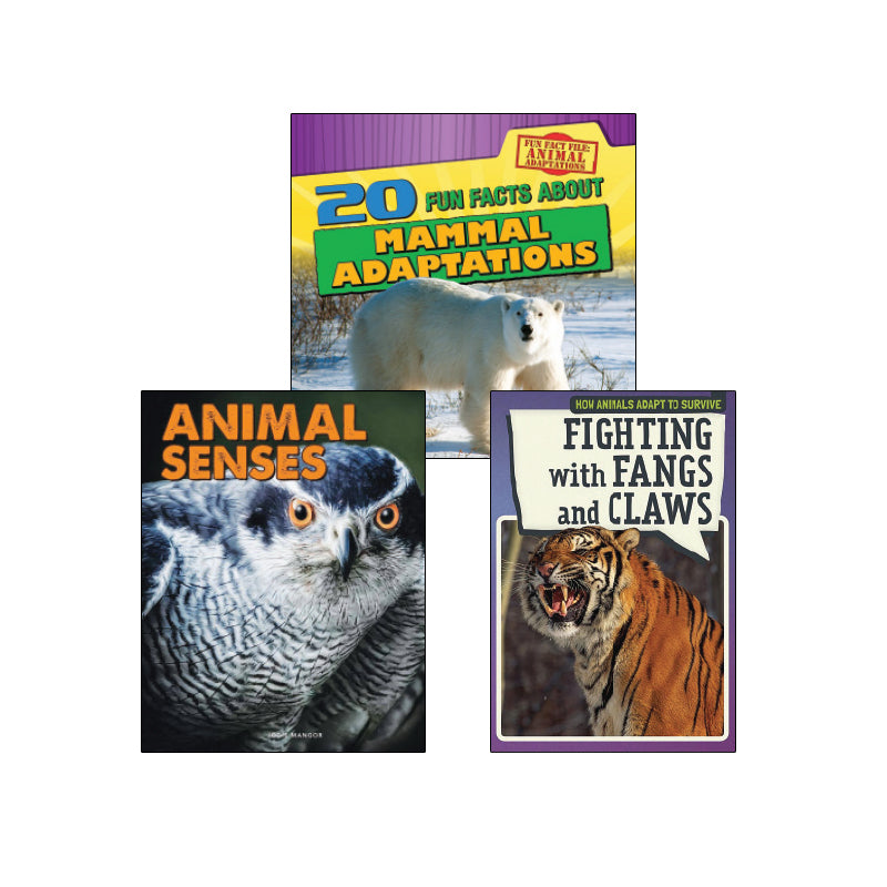 High Interest Science - Weird and Wild Animals - Grades 3-4: Variety Pack