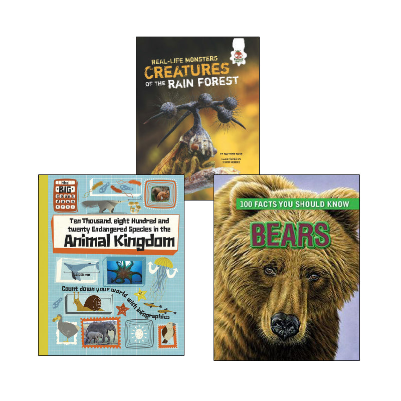 High Interest Science - Weird and Wild Animals - Grades 5-6: Variety Pack