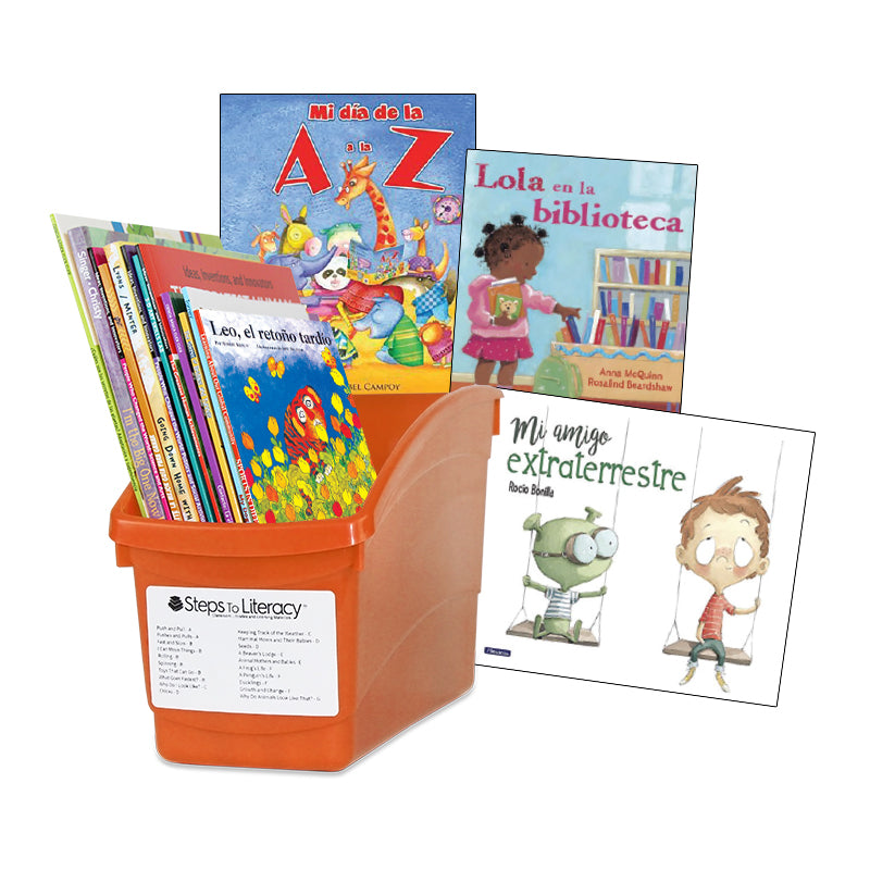 Spanish Balanced Literacy Classroom Interactive Read-Aloud - K: Classroom Library