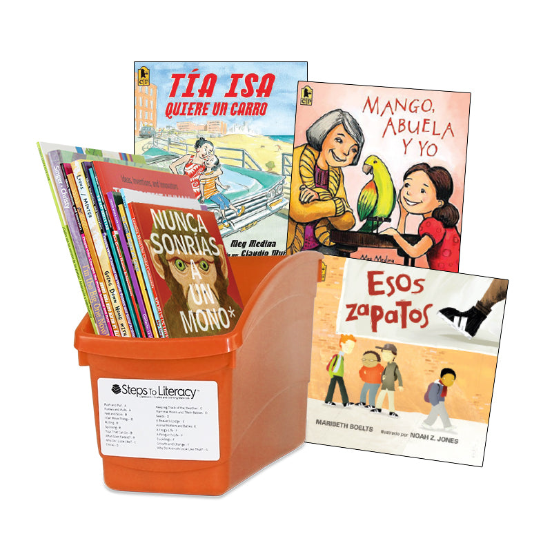Spanish Balanced Literacy  Interactive Read-Aloud- 2nd Grade: Classroom Library
