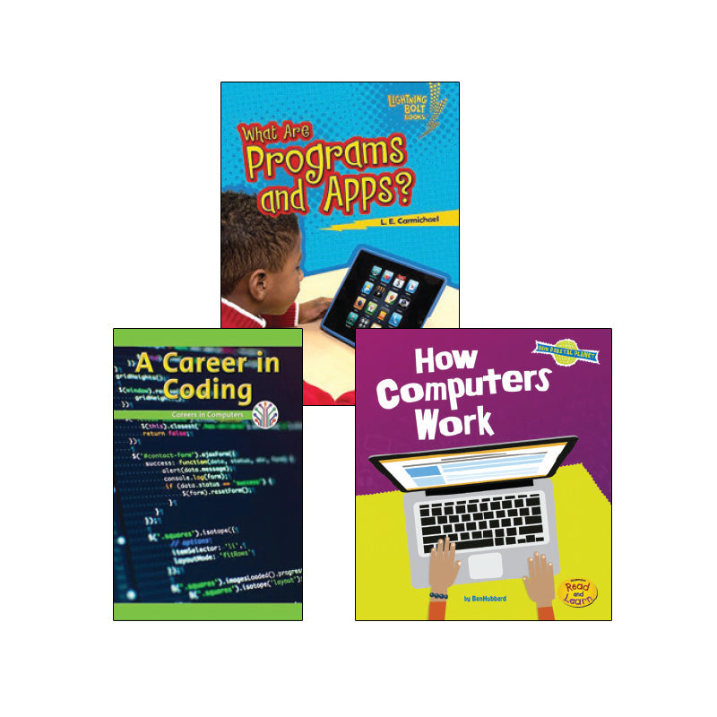 High Interest Science - Coding, Programming...- Grades 2-3 (Set 1): Variety Pack