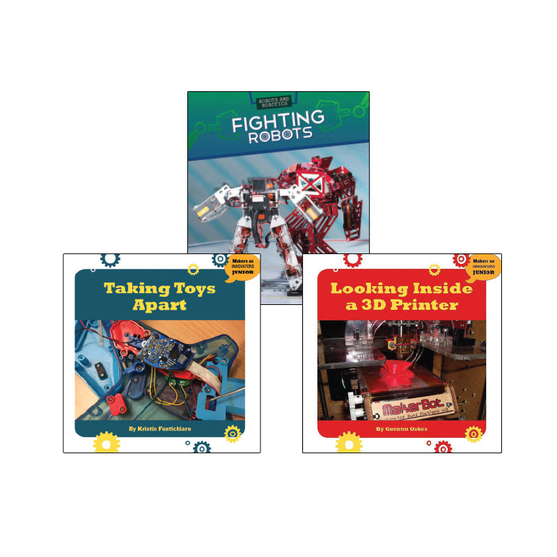 High Interest Science - Cool Technology - Grades 3-4 (Set 1): Variety Pack