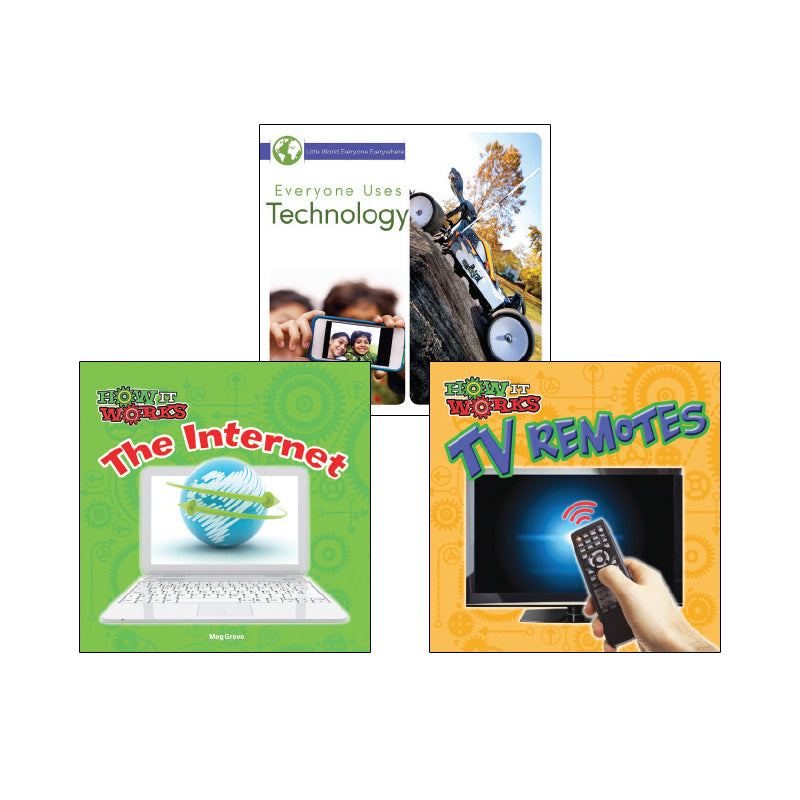 High Interest Science - Cool Technology - Grades K-2 (Set 1): Variety Pack