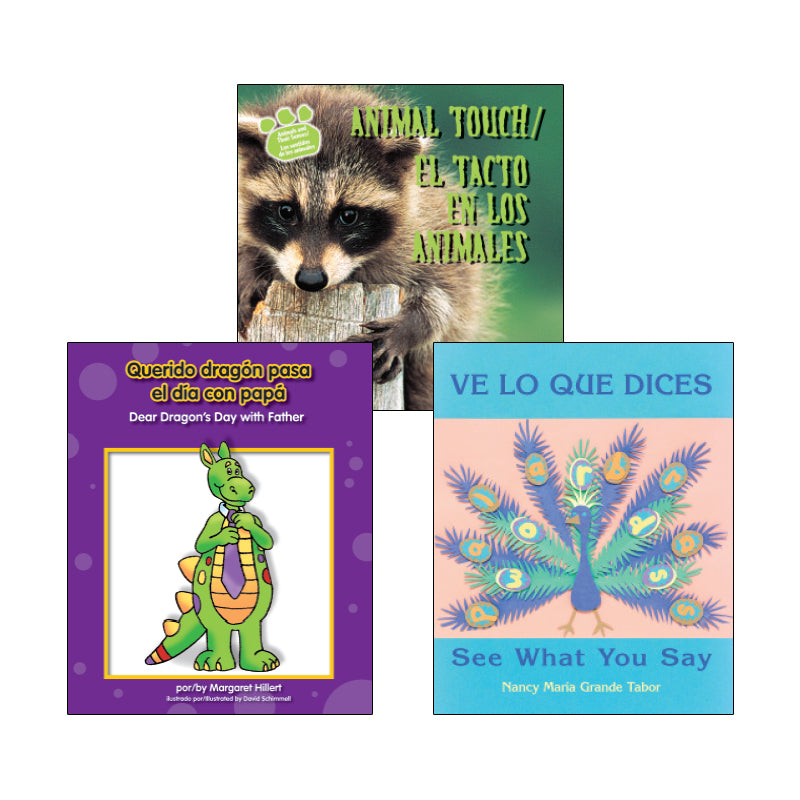 Grade 1 English-Spanish Dual Language: Variety Pack