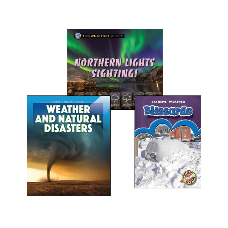 High Interest Science - Weather - Grades 2-4 (Set 1): Variety Pack
