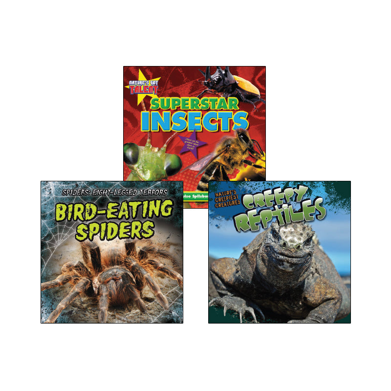 High Interest Science - Weird and Wild Creepy... - Grades 2-3 (Set 1): Variety Pack