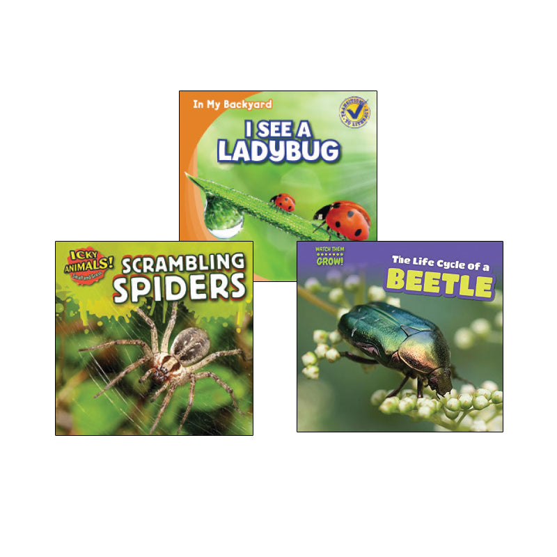 High Interest Science - Weird and Wild Creepy... - Grades K-1 (Set 1): Variety Pack
