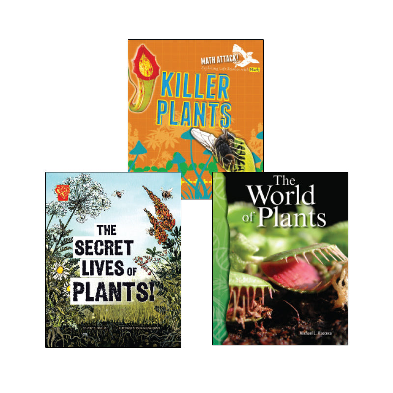 High Interest Science - Weird and Wild Plants - Grades 4-5 (Set 1): Variety Pack