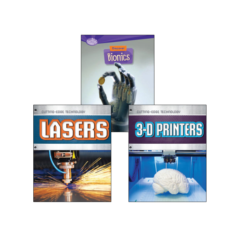 High Interest Science - Cool Technology - Grades 5-6 (Set 2): Variety Pack