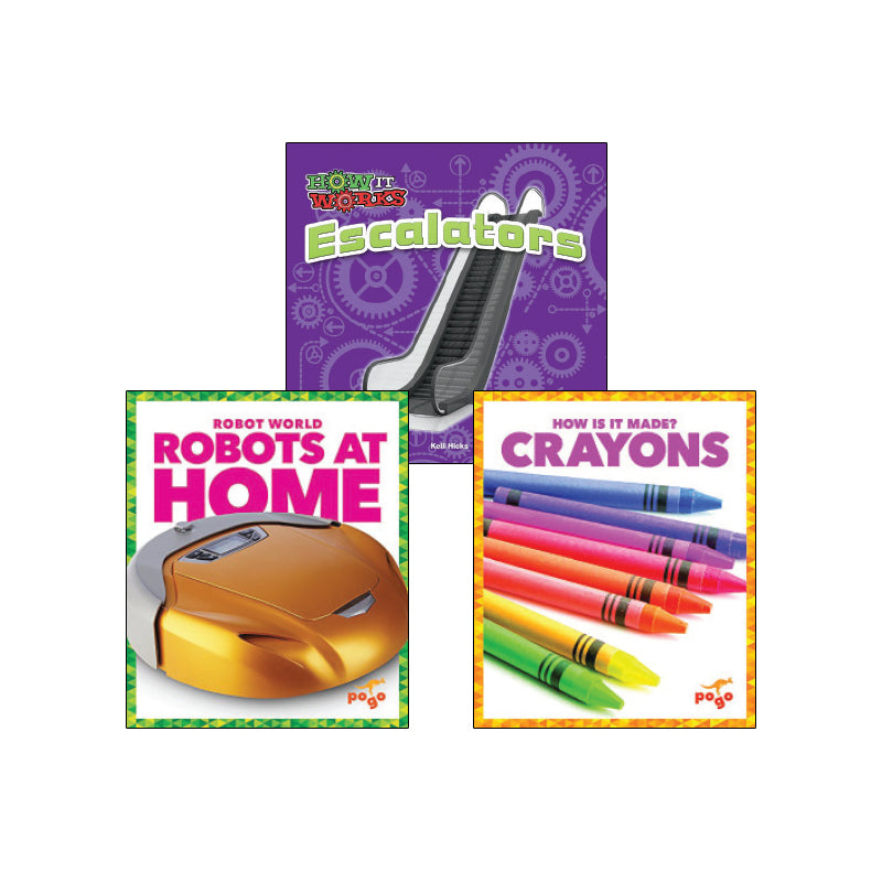 High Interest Science - Cool Technology - Grades K-2 (Set 2): Variety Pack