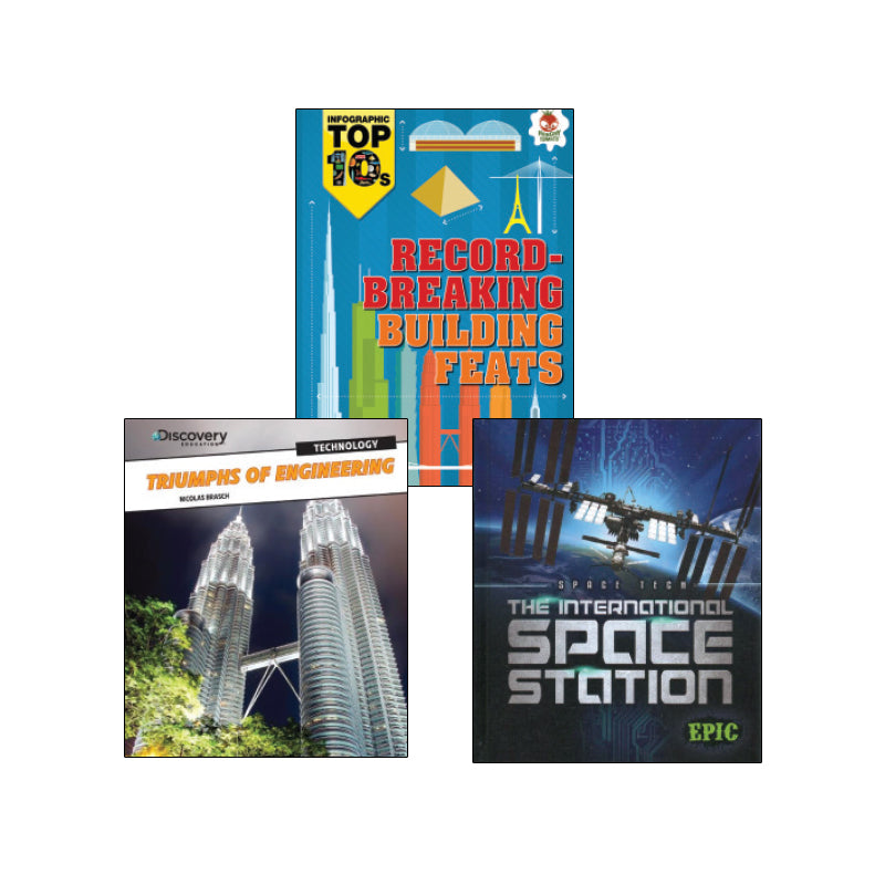 High Interest Science - Engineering...- Grades 4-6 (Set 2): Variety Pack