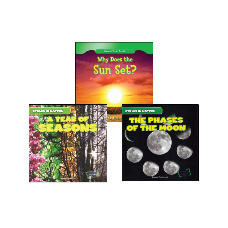 NGSS Space Systems - Patterns and Cycles - Grade 1: Variety Pack