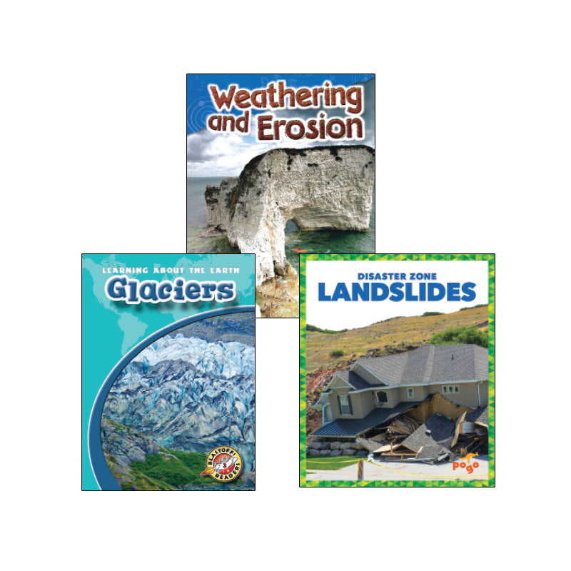 NGSS Earth Systems - Processes That Change the Earth - Grade 2: Variety Pack