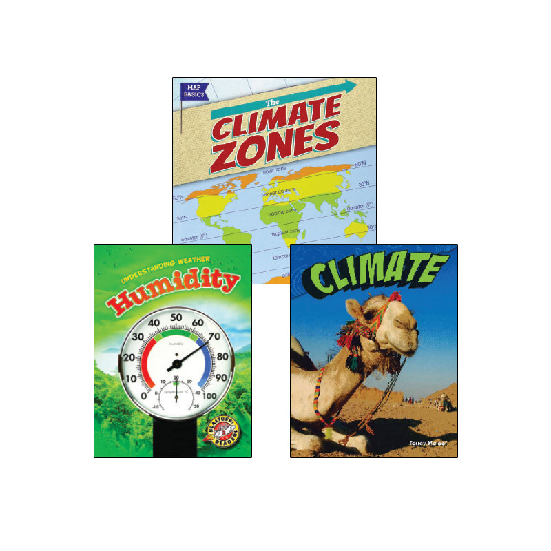 NGSS Weather and Climate - Grade 3: Variety Pack
