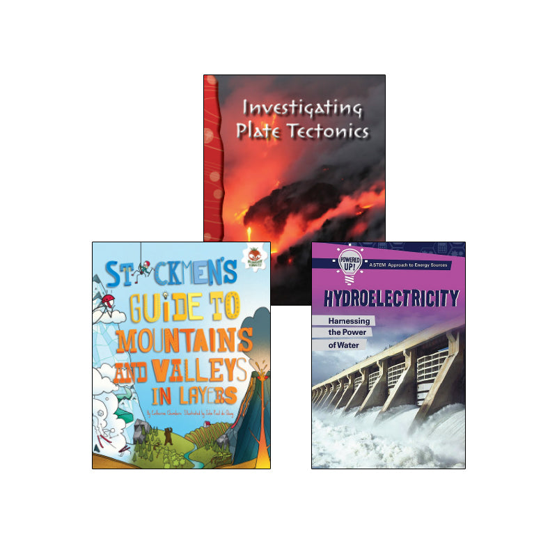 NGSS Earth Systems - Processes That Change the Earth - Grade 4: Variety Pack