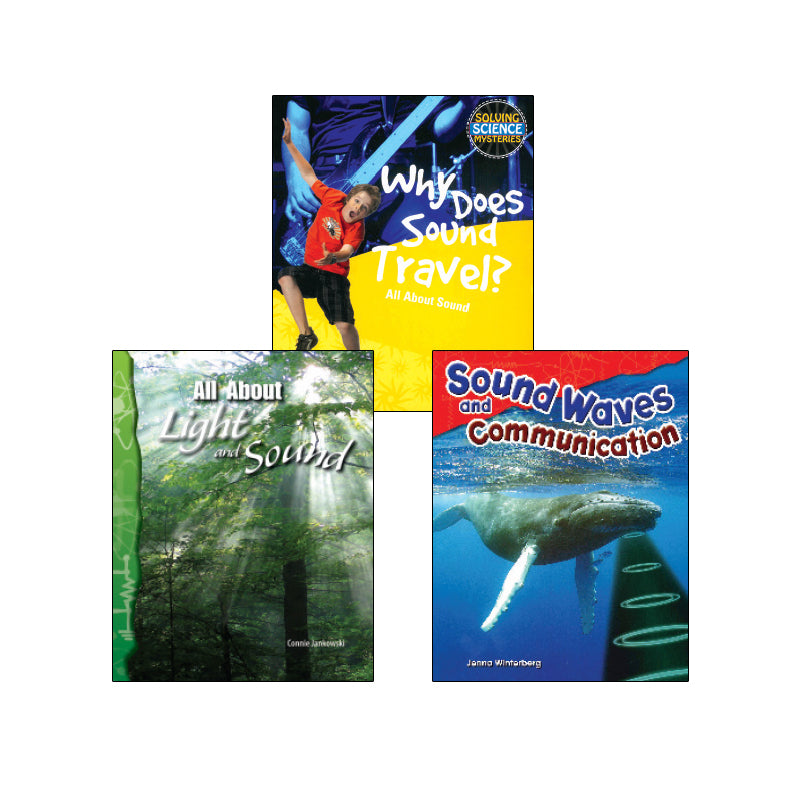 NGSS Waves - Waves and Information - Grade 4: Variety Pack