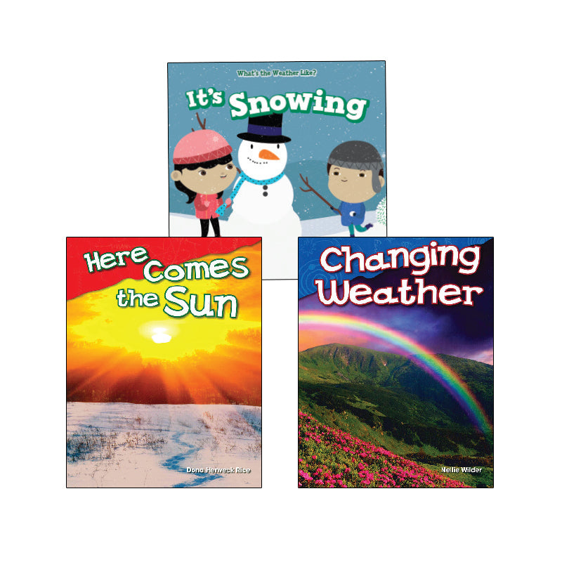NGSS Weather and Climate - Kindergarten: Variety Pack