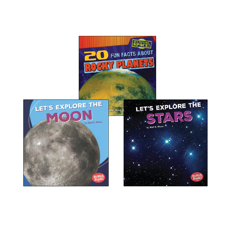 High Interest Science - Space - Grades K-2 (Set 2): Variety Pack