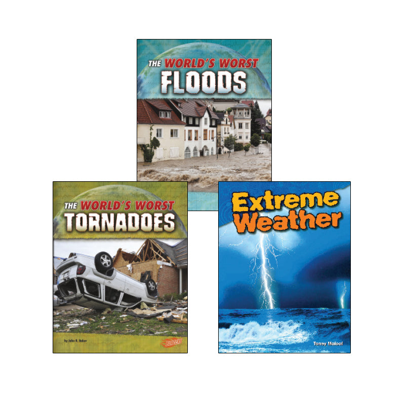 High Interest Science - Weather - Grades 2-4 (Set 2): Variety Pack