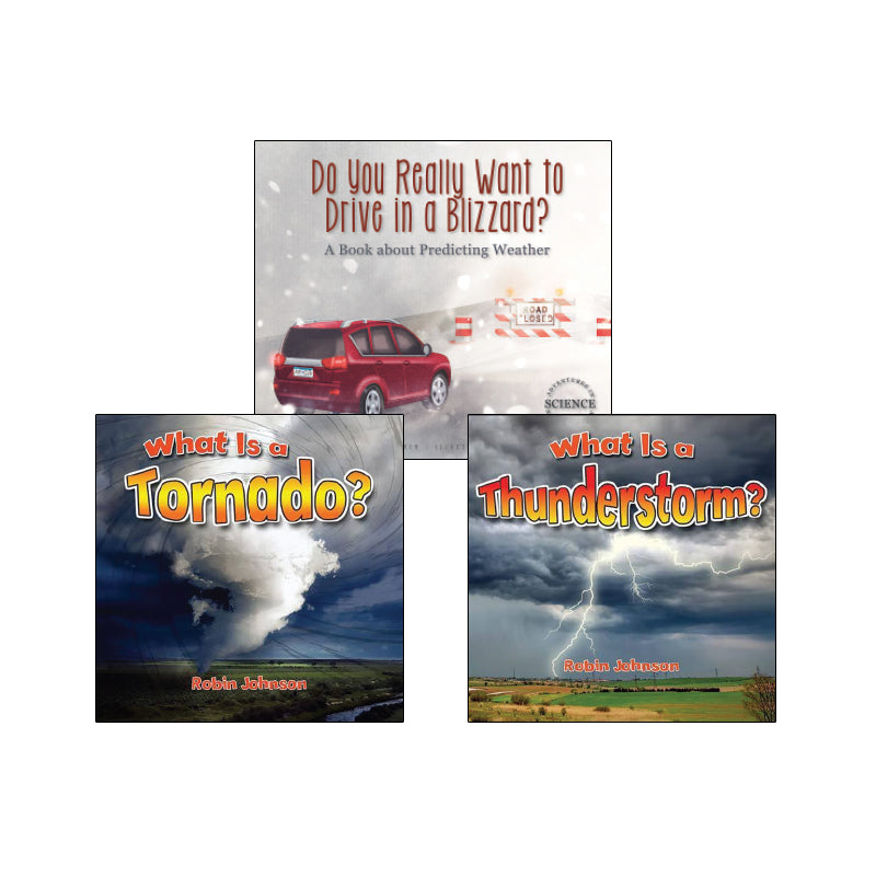 High Interest Science - Weather - Grades K-2 (Set 2): Variety Pack