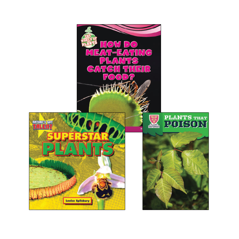 High Interest Science - Weird and Wild Plants - Grades 2-3 (Set 2): Variety Pack