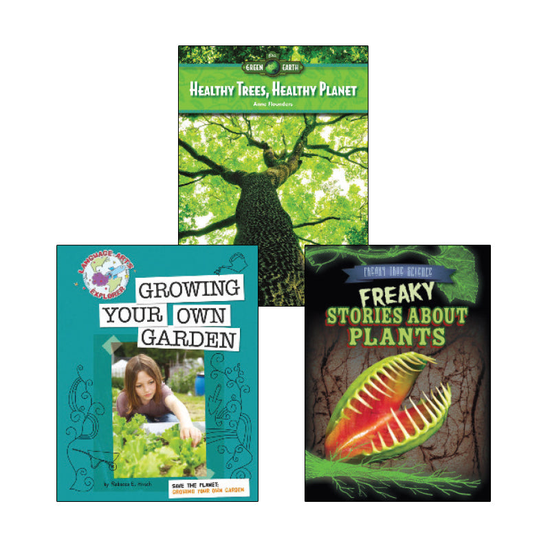 High Interest Science - Weird and Wild Plants - Grades 4-5 (Set 2): Variety Pack