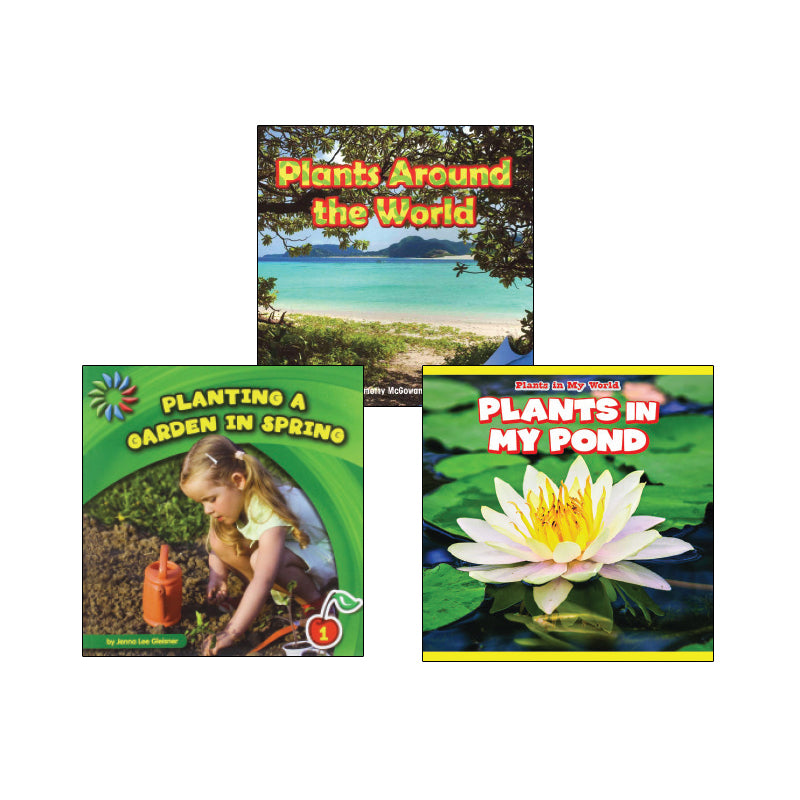 High Interest Science - Weird and Wild Plants - Grades K-2 (Set 2): Variety Pack