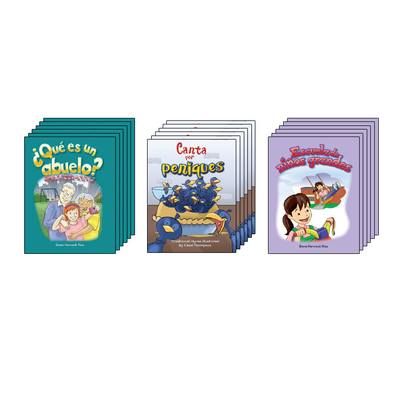 Spanish Balanced Literacy Classroom - Kindergarten: Shared Reading Library
