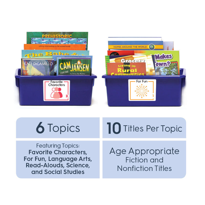 Grade 1 (English): All-in-One Reading Bin