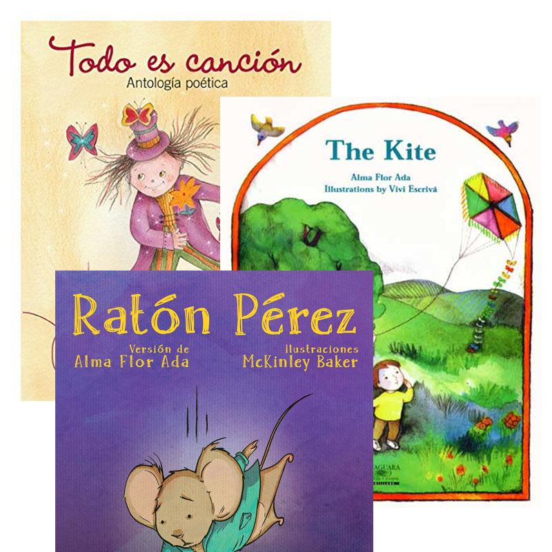 Alma Flor Ada Spanish Author Study: Variety Pack