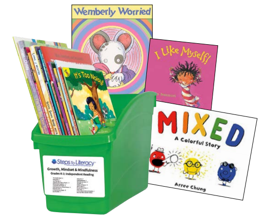 Pre-K Spanish social emotional book bin