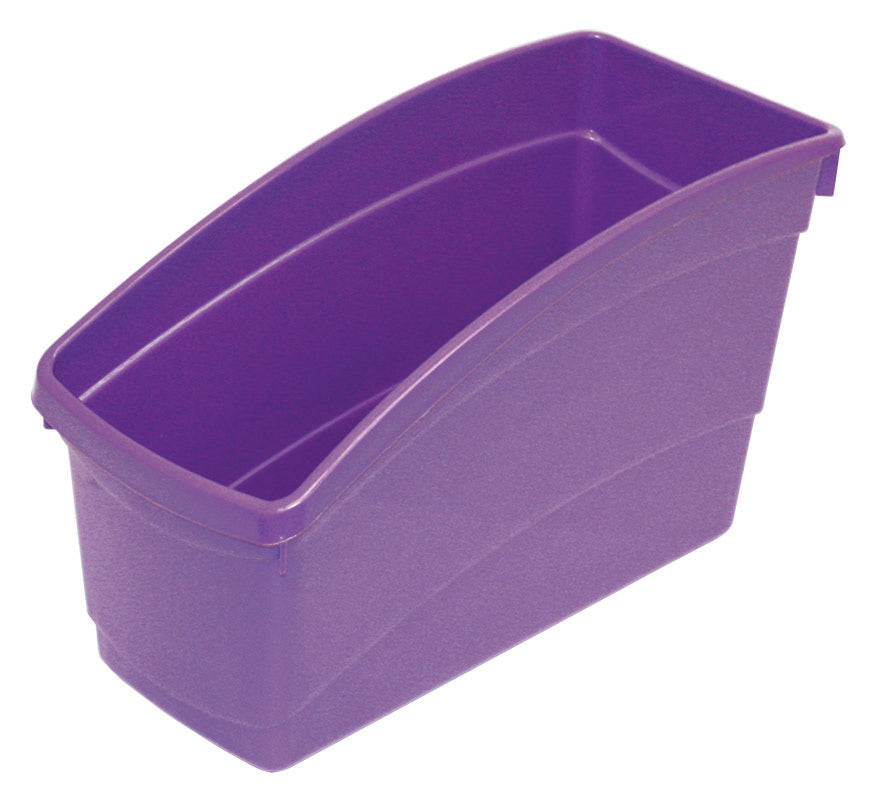 Plastic Book Bin - Purple