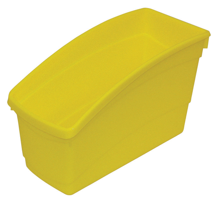 Plastic Book Bin - Yellow