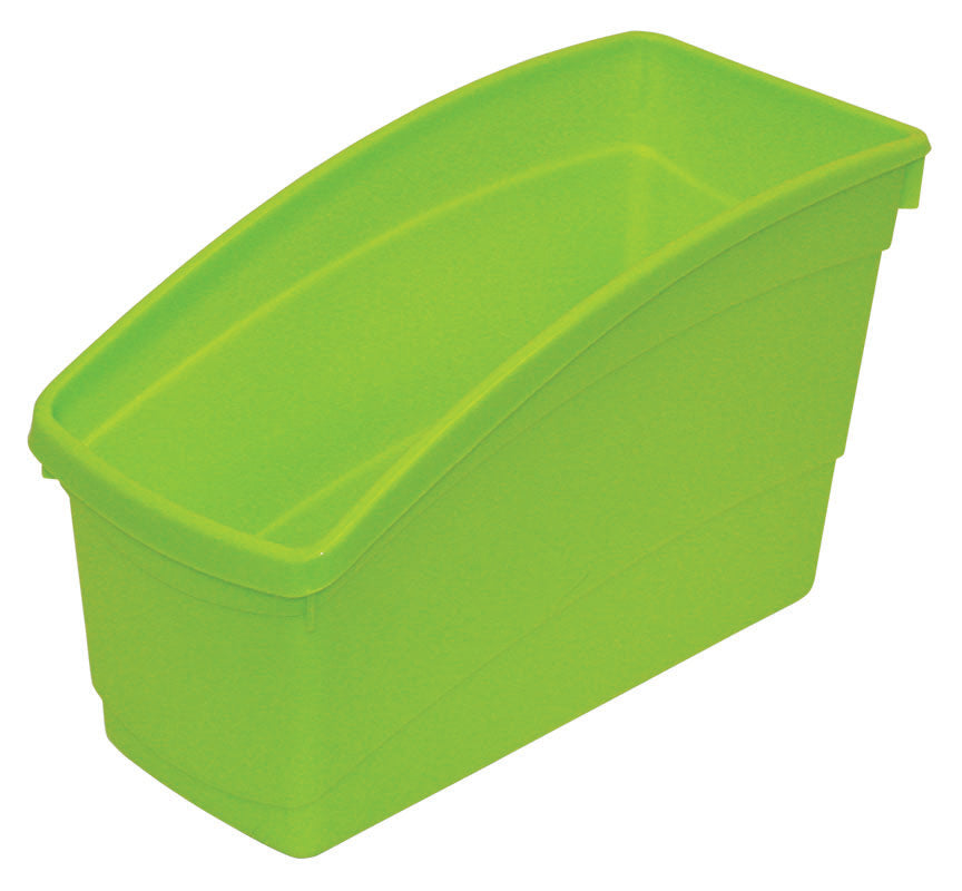 Plastic Book Bin - Lime Green
