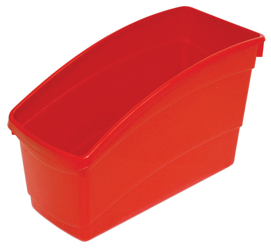 Plastic Book Bin - Red
